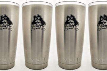 Engraved Yeti Pint Cups