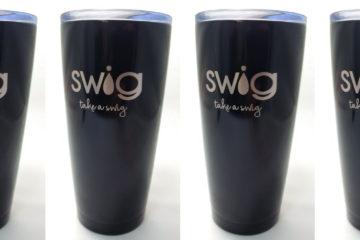 Engraved Swig Cups