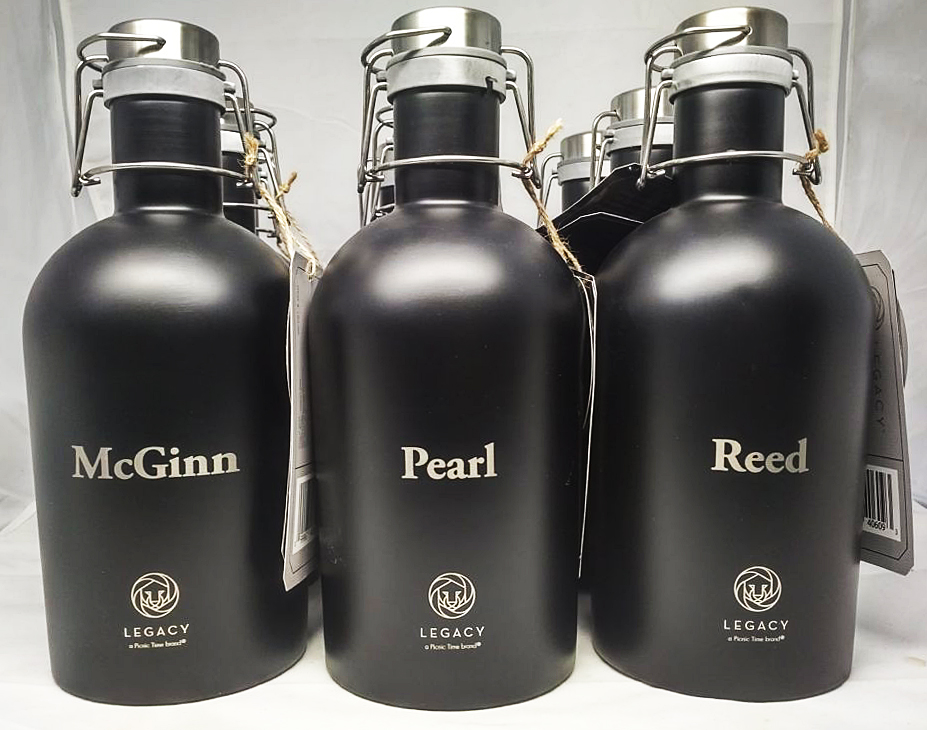 Customize growlers brewery products